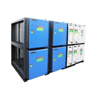 组合式油烟净化器(静电+UV+活性炭)